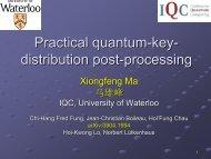 Practical quantum-key- distribution post-processing
