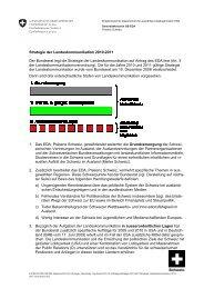 Strategie der Landeskommunikation 2010-2011 ... - Präsenz Schweiz
