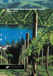 New Zealand Wine Annual Trade Tasting: Dublin 2012