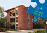 Annual Report 2011/12 - Havebury Housing Partnership