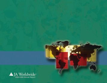 Annual Report for FY 2005-2006 - JA Worldwide