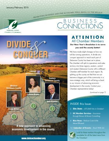 DIVIDE CONQUER - Delaware County Chamber of Commerce