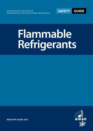 Flammable-Refrigerant-Safety-Guide-2013