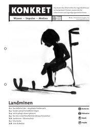 KONKRET Landminen - Österreichisches Jugendrotkreuz