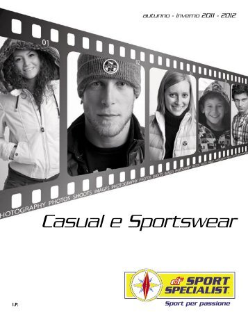 CATALOGO CASUAL FITNESS AUTUNNO INVERNO 2011 ...