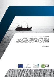 raport z przeprowadzonego monitoringu instytucji odpowiedzialnych ...