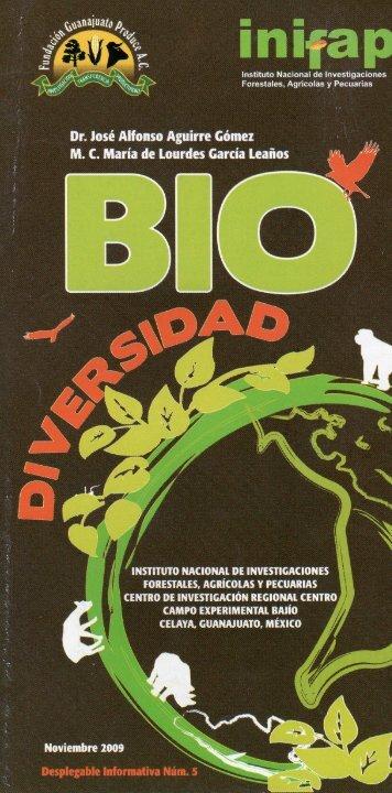biodiversidad - Instituto Nacional de Investigaciones Forestales ...