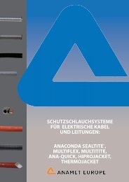 anaconda sealtite®, multiflex, multitite, ana-quick ... - drive-electric.hu