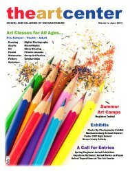 Spring 2013 Catalog.pdf - The Art Center School and Galleries