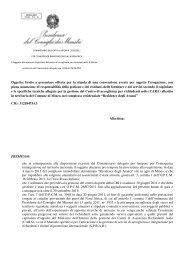 Schema lettera invito - Provincia Regionale di Catania