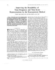 Improving the readability of time-frequency and time-scale ...