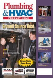 Mécanex-Climatex Show Issue - Plumbing & HVAC