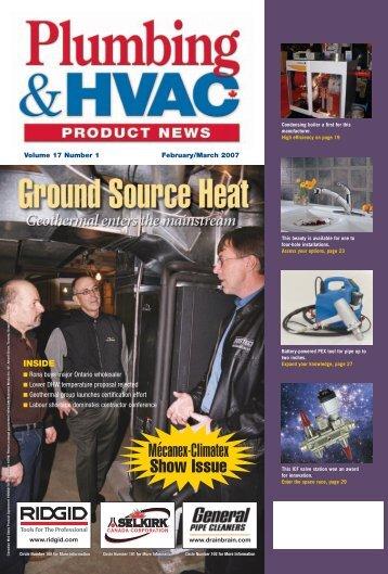 Mécanex-Climatex Show Issue - Plumbing & HVAC