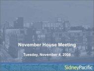 November House Meeting - Sidney Pacific Graduate Community - MIT