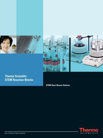 Thermo Scientific STEM Reaction Blocks - Sapaco 2000