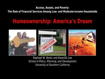 Homeownership: America's Dream
