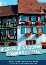 Télécharger le dossier de presse de Colmar au format PDF