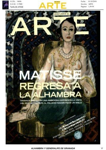 Revista de Prensa - Alhambra y Generalife