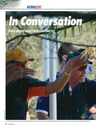 In Conversation - Clay Shooting USA