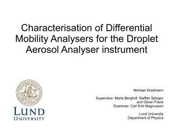 Presentation (pdf) - CAST - Lunds universitet