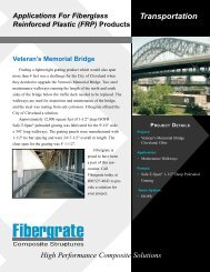Bridge Walkways - Powerstrut