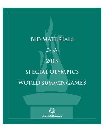 OFFICIAL SPECIAL OLYMPICS WINTER SPORTS RULES