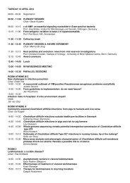 Program Tuesday 16 April 2013 - NVMM