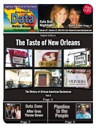 The Taste of New Orleans