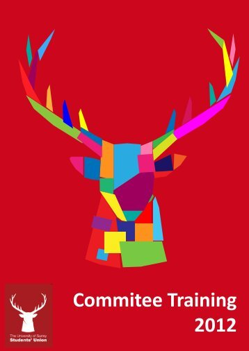 Committee Training Booklet 2012 Web Version.pdf - University of ...