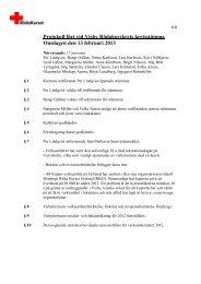 Protokoll kretsstämma 13 februari 2013