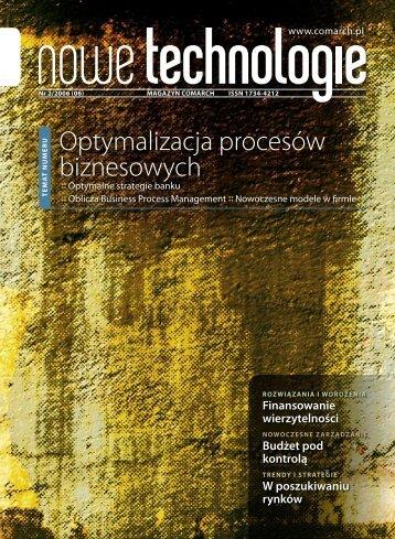 Magazyn Nowe Technologie 06-foty.indd - Comarch
