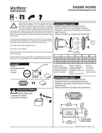 hour meter veethree instruments?quality=80 m a t r i x m e n u struc,Veethree Gauges Wiring Diagram