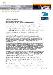 Pressemitteilung Basycs und Innovabee kooperieren