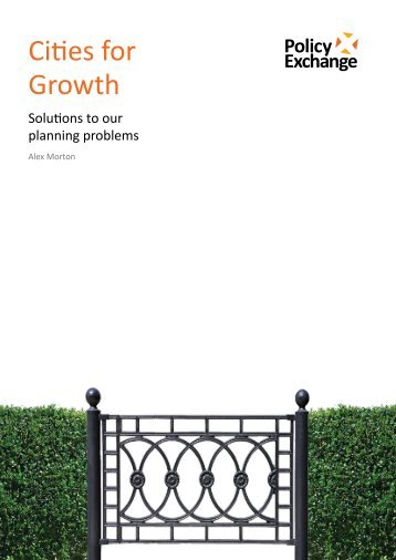 Cities for Growth - Political Developments Limited - PDL
