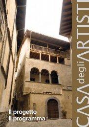 Casa degli Artisti: Programma - Valle Camonica Distretto Culturale