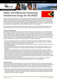 ARV Drugs