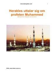 Herakles uttalar sig om profeten Muhammed - Islamguiden