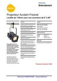 Acclaim Fresnel