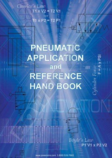 Pneumatic Application & Reference Handbook - Coast Pneumatics