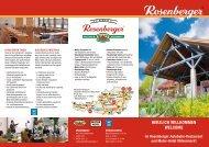 Herzlich willkommen welcome - Rosenberger