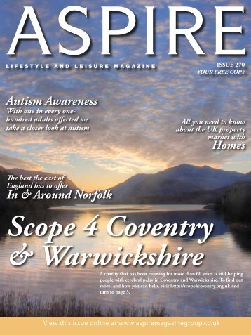 Autism Awareness - Aspire Magazine