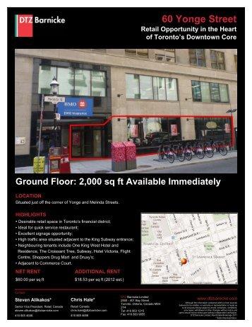 60 Yonge Street, Toronto.pdf - DTZ