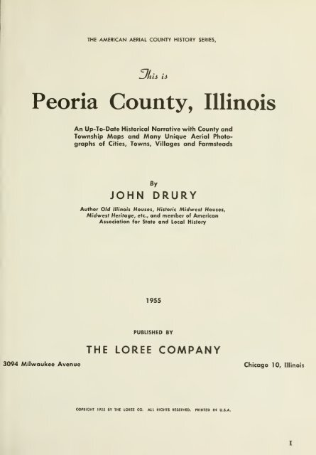 View Or Download Peoria County Illinois Genealogy And History