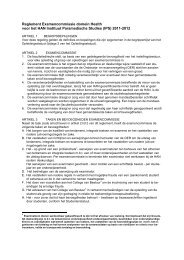 (IPS) 2011-2012 - Hogeschool van Arnhem en Nijmegen