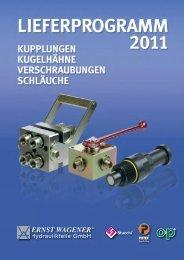flyer 2011.pdf - Ernst Wagener Hydraulikteile GmbH