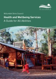 Health and Wellbeing Services A Guide for All Abilities