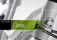 CANNONDALE E-Series 2013 - Ride Bike