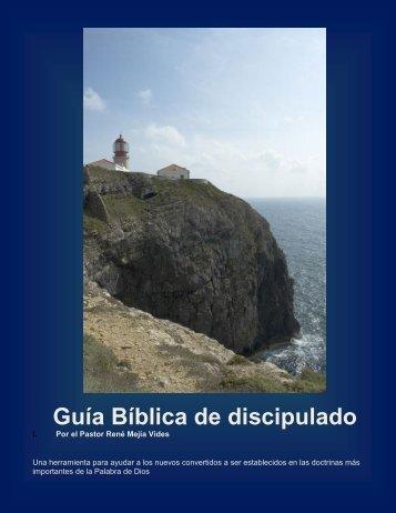 Guía Bíblica de discipulado - Cimiento Estable