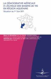 Atlas 2011 de la région Aquitaine - Conseil National de l'Ordre des ...
