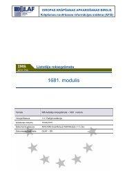 Lietotāja rokasgrāmata - ES fondi